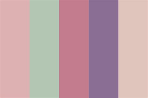 warm colors palette warm rose color palette