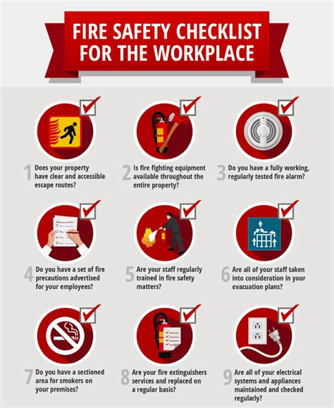 layout of the work space to prevent accidents and injuries workplace fire prevention steps security alarm al vas