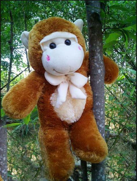 Jual Boneka Doraemon Jumbo Murah Ukuran 70 Cm jual boneka monyet lucu ukuran 70 cm sni dan awet