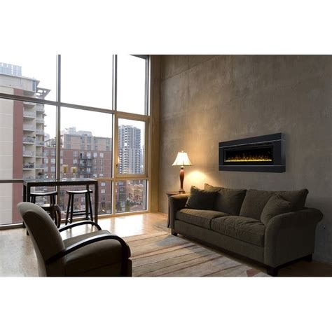 Dimplex 50 Linear Electric Fireplace by Dimplex Prism 50 Quot Wall Mount Linear Electric Fireplace