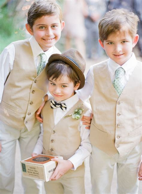 17 Best images about Weddings: Ring Bearer/Page boy on