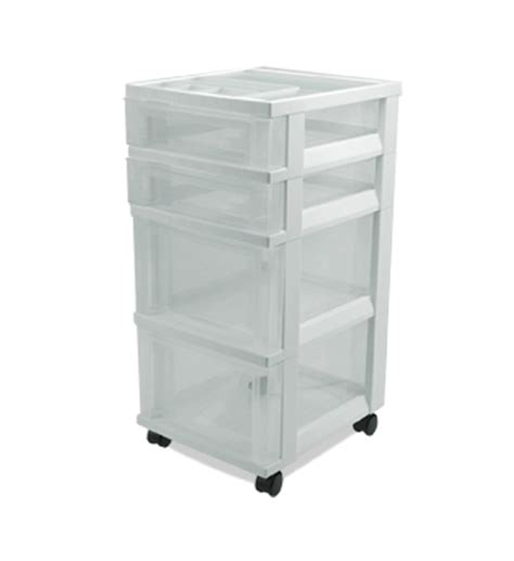 clear plastic storage dresser plastic storage chest with 4 drawers in storage drawers