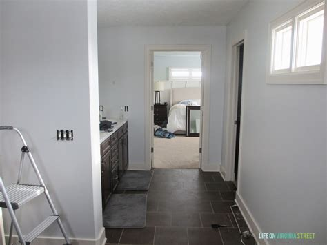 light french grey paint master bath refresh now under construction life on