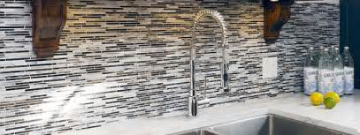 wonderful Slate Backsplash Tiles For Kitchen #1: black-white-backsplash-tile.jpg