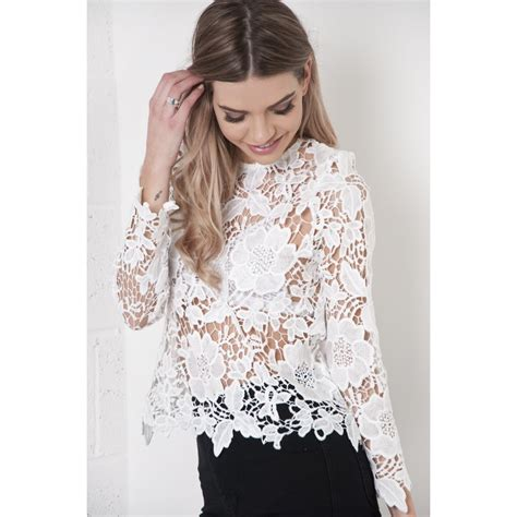Sleeved Lace Top pin barbietch sleeve lace top on