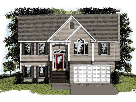 split foyer house plans car interior design