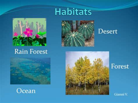 exle of habitat habitats slide powerpoint k 5 computer lab technology lessons