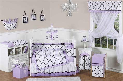 baby crib bedding sets purple baby crib bedding set feel the home