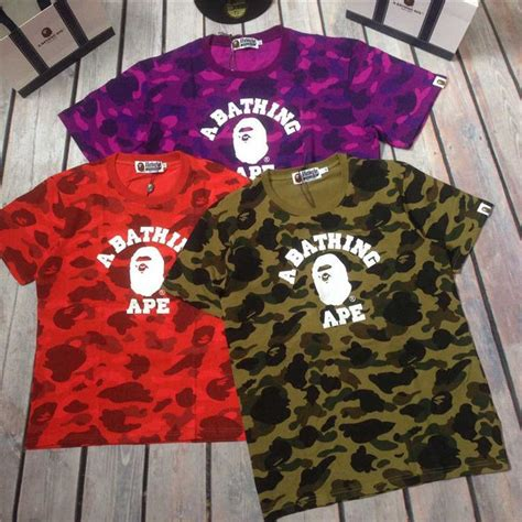 Premium Bathing Ape Bape T Shirt Green Army Motive 54 best images about preme x bape on camo shirts coats and instagram