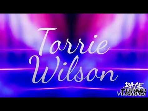 torrie wilson entrance wwe torrie wilson titantron youtube