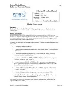 best photos of office procedure manual template medical