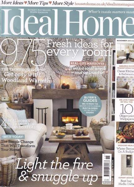 homes and interiors magazine ideal home magazine 2013 interiors