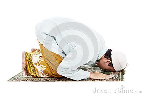 Why Do Muslims Pray On A Mat by Prostration In Islam