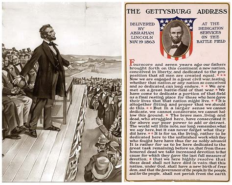 speech from abraham lincoln gettysburg address 150th anniversary