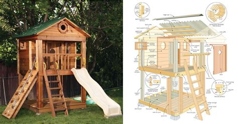 Woodwork Playhouse Plans Sale Pdf Plans