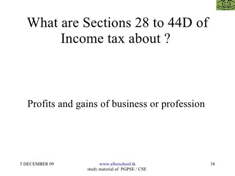 section 10 36 of income tax act taxation issues for entrepreneurs