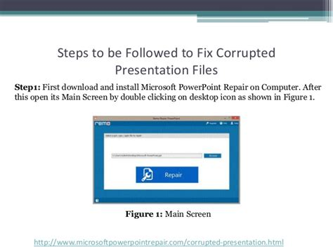 Fix Your Corrupted Powerpoint Presentation File In Few Clicks | fix your corrupted powerpoint presentation file in few clicks