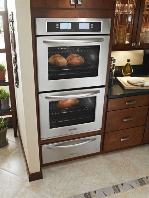 1258 quot one wall quot kitchen cabinet package set kitchenaid kebu208sss 30 quot double steam assist electric