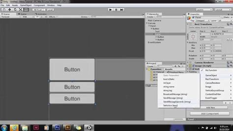 unity r layout unity ui drop down menu youtube
