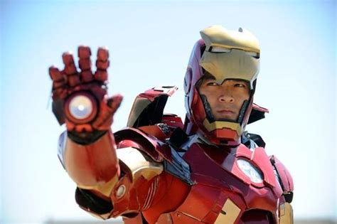 real life iron man cosplay suit geek wishes pinterest