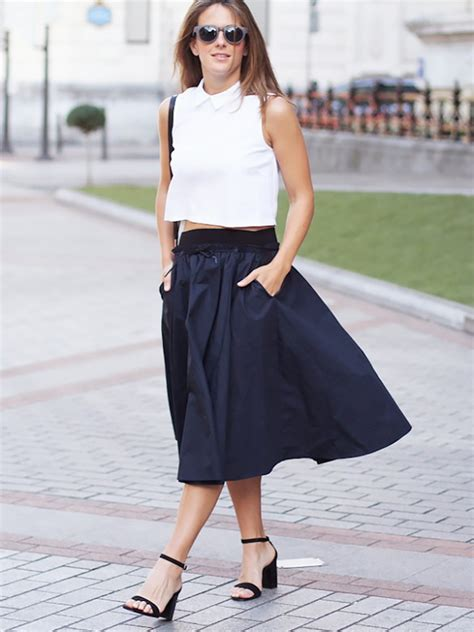 20 fresh ways to wear a denim skirt this summer