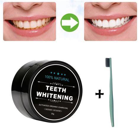 deal  teeth whitening powder natural organic