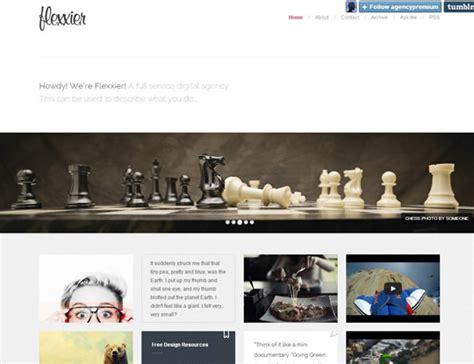 portfolio tumblr theme free html showcase of best minimal portfolio tumblr themes designbeep