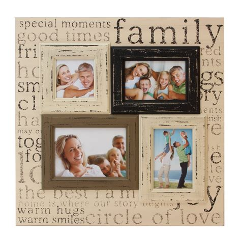 family photo frame family multi aperture collage photo frame large 19 quot x 19