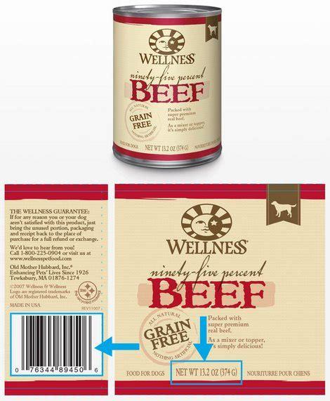 wellness food recall wellness food recall of march 2017