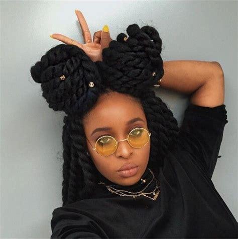 crochet hairstyles bun 220 best images about braids twist locs on pinterest