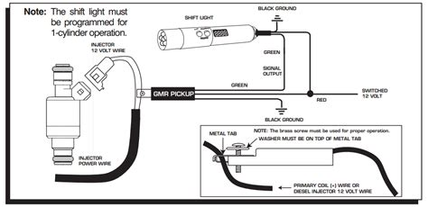 msd shift light wiring diagram wiring diagram with