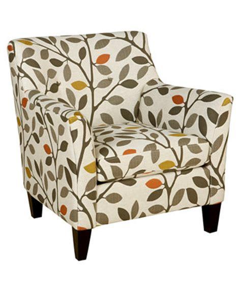 leaf pattern accent chair ava fabric accent chair 33 quot w x 36 quot d x 34 quot h furniture