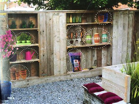 tuin kast hout tuin afscherming en kast in 233 233 n balkon pinterest