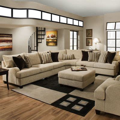 Simmons Upholstery Furniture Reviews by Simmons Upholstery Sectional Reviews Wayfair