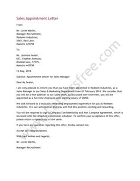 Offer Letter To Successful Candidate 1000 Images About Appointment Letters On Letters Writing Guide And Thank You Letter