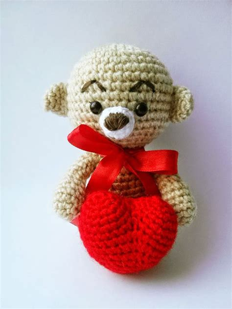 heart pattern amigurumi 17 best images about amig orso on pinterest free pattern
