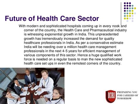 Future Of Mba Graduates by Great Future For Students Of Mba In Health