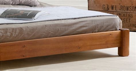 low wood bed frame low platform bed no headboard get laid beds