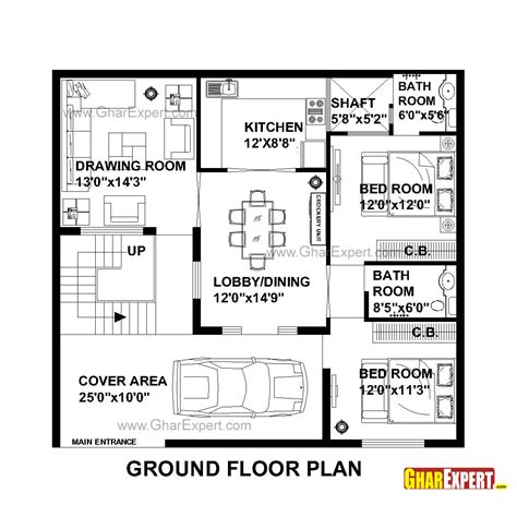 gaj into square feet 100 gaj into square feet house plan for 50 feet by