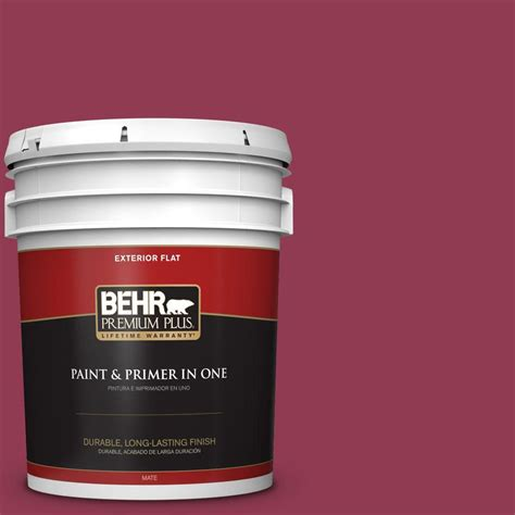 behr paint colors cranberry behr premium plus 5 gal 120d 6 cranberry splash flat