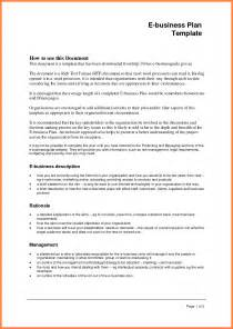 Formal Business Plan Template by 4 Formal Business Plan Sle Bussines 2017