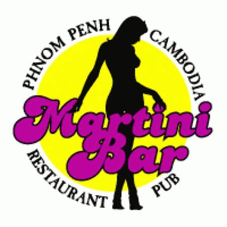 martini bar logo martini bar logo vector cdr for free