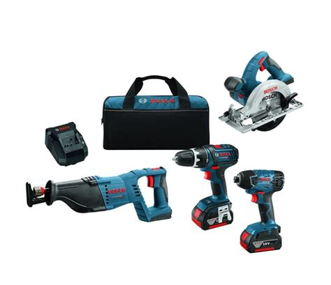 bosch 18v kits save 48 off bosch 4 tool combo kit mumblebee inc