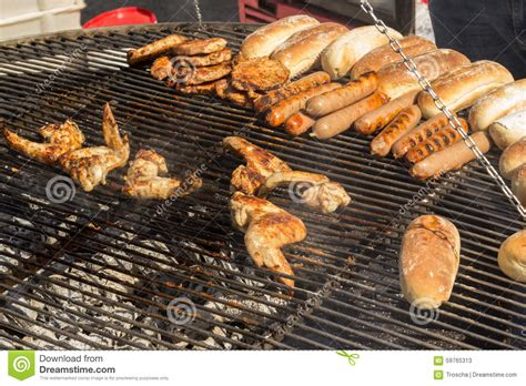 Backyard Bbq Epicure Summertime Grilling Stock Photo Image 59765313