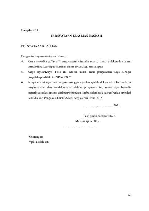 Penilaian Pembelajaran Bahasa Asli pedoman penilaian apresiasi 2015 komplit