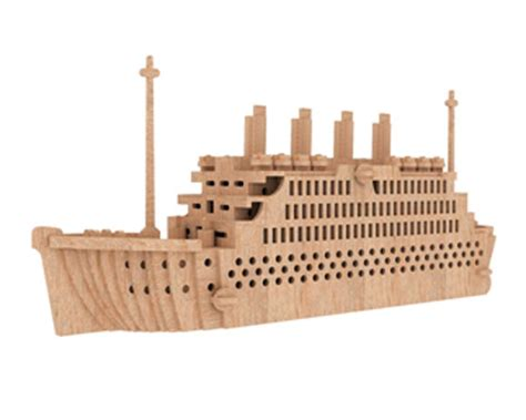 green army tank vehicles ships plane cnc cut file laser dxf the titanic ships boats makecnc com