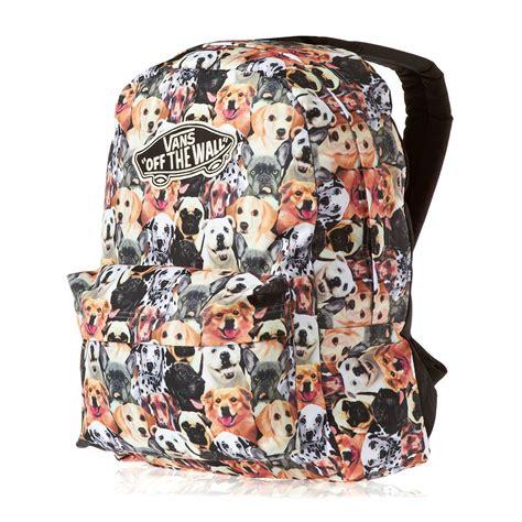dog pattern vans vans x aspca realm dogs backpack