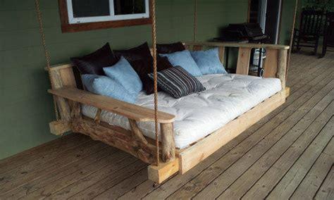 king swing bed porch swing bed king from godsrusticworkshop on etsy