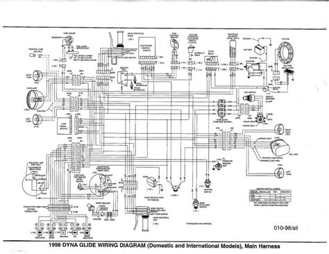 2004 2007 harley davidson wiring schematics and diagrams