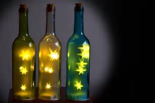 Replacement Chandelier Shades 3x Led Fairy Dust Stars In Bottle Light Funky Magical Lamp